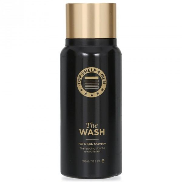 TOP SHELF 4 MEN The Wash Shampoo+Duschgel, 300ml