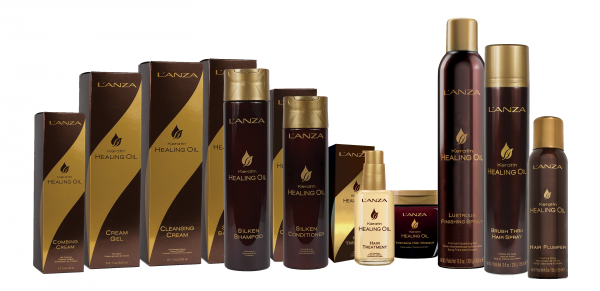 LANZA Keratin Healing Oil Hair Treatment, 10ml