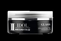 MEDAVITA Black Idol Glass Brillantine Pomade, 50ml