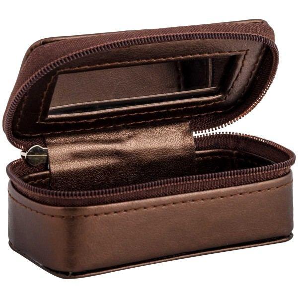 Lippenstiftbox bronzefarben