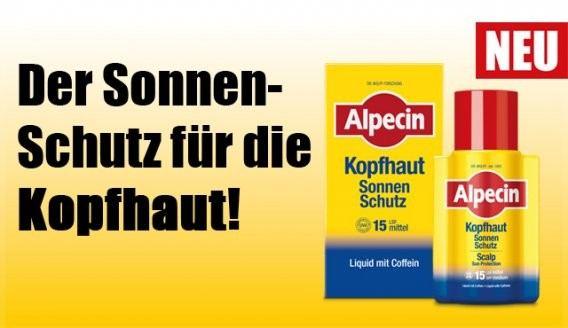 ALPECIN Kopfhaut - Sonnenschutz LSF 15, 100ml