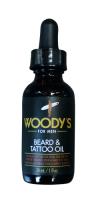 Vorschau: WOODY`S Bartschere + Beard & Tattoo Oil, 30ml