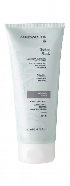 MEDAVITA Choice color silber hair mask, 200ml