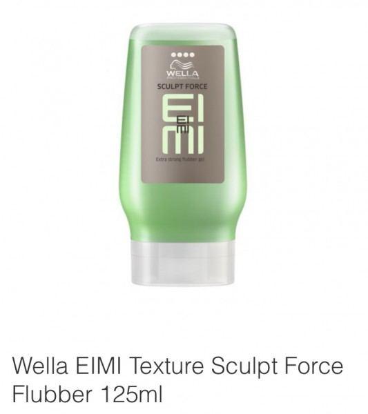 Friseur Produkte24 - Wella Eimi Flubber Sculpt Force Flubber Gel 125ml