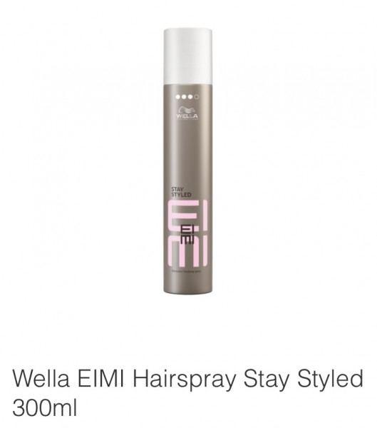 Friseur Produkte24 - Wella Eimi Stay Styled Haarspray 300ml