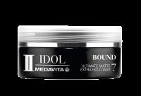MEDAVITA Black Idol Bound Ultimate Matte Extra Hold Wax, 50ml