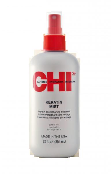 CHI Keratin Mist Leave-In Strengthening Treatment, 355ml
